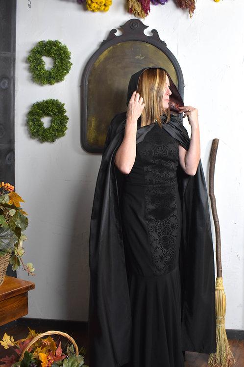 Black Taffeta Cloak