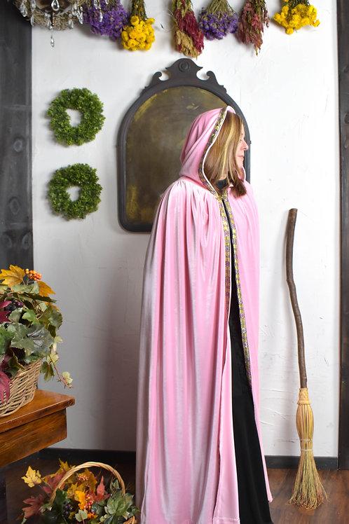 Pink Velvet Cloak