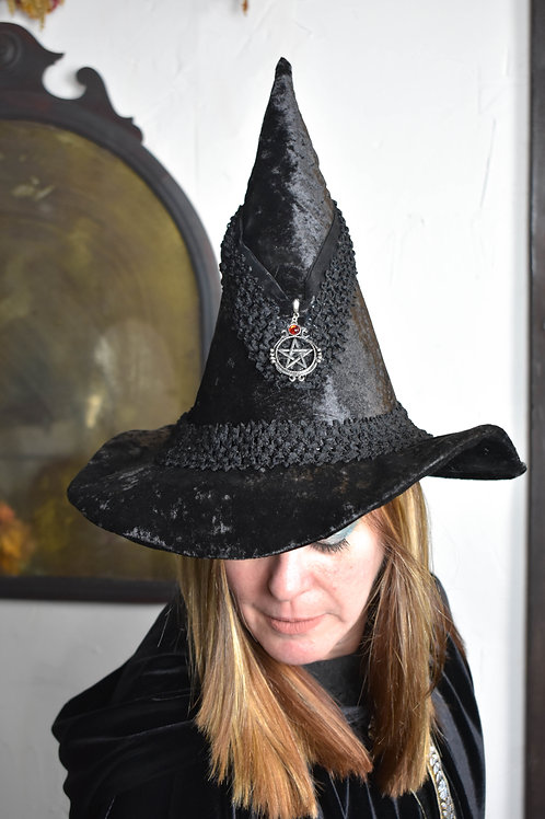 Black Pentacle Hat