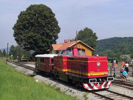 Nasazení lokomotivy T444.0255 na pravidelné vlaky