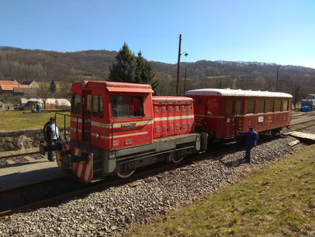 Víkend 5. a 6.9. s lokomotivou T212.0094.