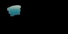 Rubean logotype blk w Teal Blue Wave Grd