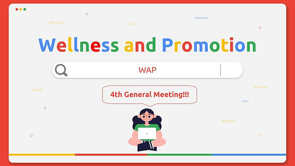 4th General Meeting_ Wellness and Promot