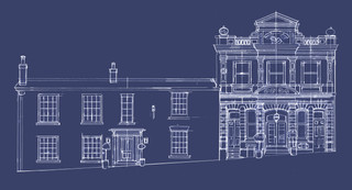North House, Cowes - web opening page
