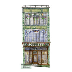 Cowes – Jolliffe's Building – watercolour artwork