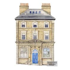 Building: watercolour