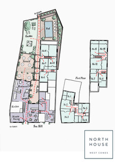 North House, Cowes - plan