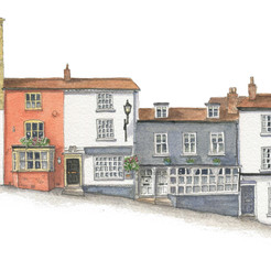The north side of Quay Hill, Lymington