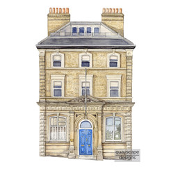 How to choose a house portrait artist? Things to think about when commissioning a house illustration