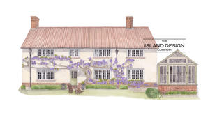 """""""I commissioned Island Design Co to paint a water colour of our home as a gift to my husband on his birthday.  His comments when he opened the parcel and saw the painting were 'this is the nicest and most special present anyone has ever given me'.  The watercolour they painted of our home was truly beautiful and they were even able to include our dogs in the painting, sitting at the front of the house which made it even more special.  The whole process of having the painting done was an absolute pleaure, Island Design updated me with sketches and offered thier expertise as to what would look best and they were spot on.  If you are considering having Island Design Co do a painting of your home I cannot encourage you enough to do so, they are absolutely brilliant and the end result is something we will cherish forever.""""  (16-4-18 LG)"""