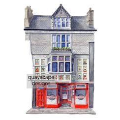 Dartmouth – Kendricks – watercolour artwork