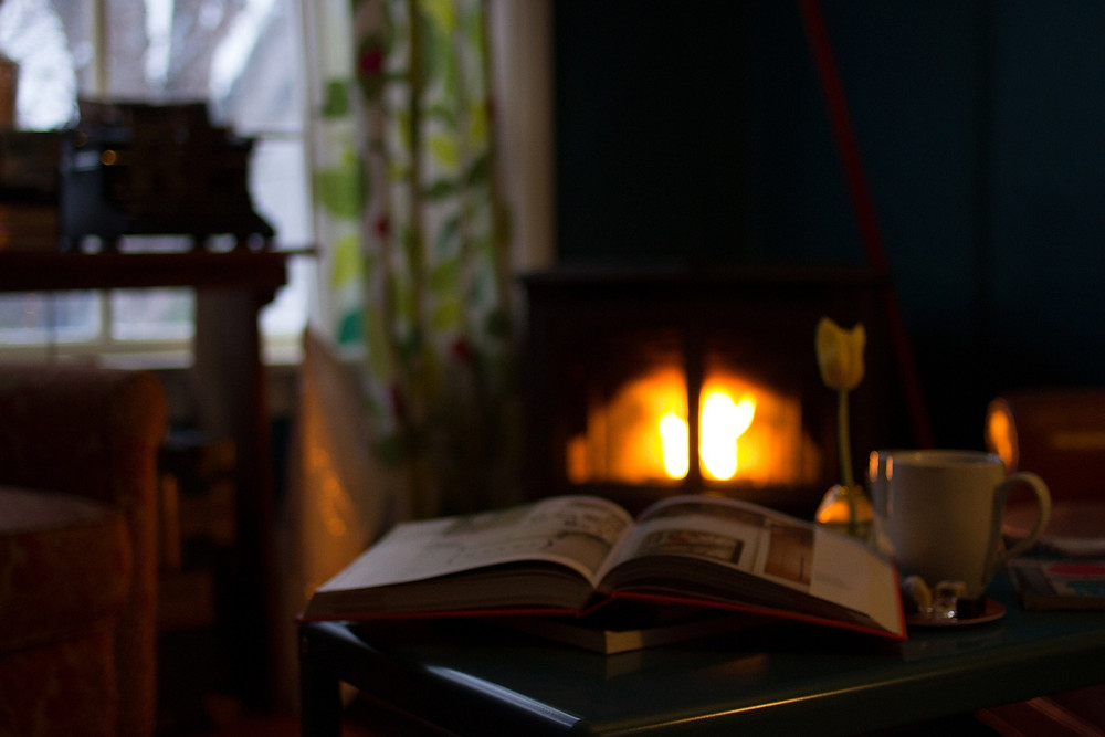 reading and hygge