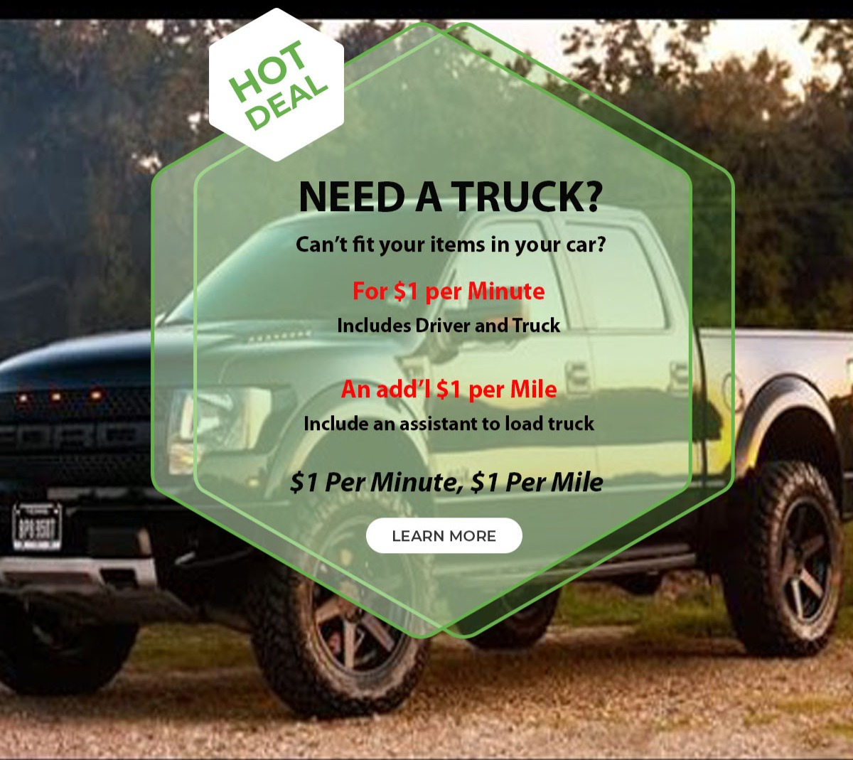 Need a Truck?
