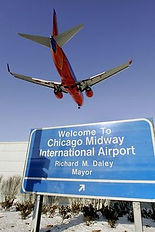 Midway international airport directions to Wait Here Chicago luggage and layover lounge concierge / Nonya B.