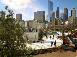 Maggie Daley Ice Skating Park - Wait Here Chicago Layover & Luggage Lounge / Chicago Attractions / Nonya B.