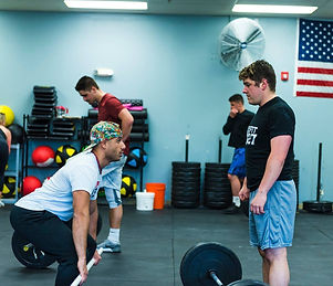 personalized fitness training