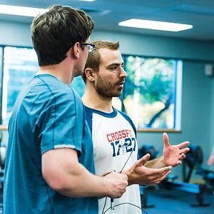 Crossfit training coach