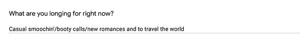19. casual smoochin and travel the world