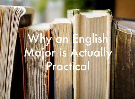 Why an English Major is Actually Practical