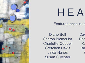 HEAT Second Annual Internation Group Encaustic Show-wahoo!