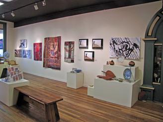 Main Street Gallery, Weaverville, CA September-October,  2014