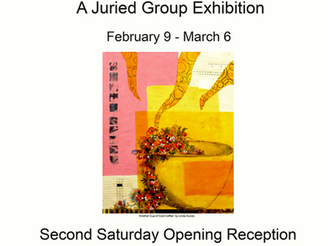 "The Sierra Wax Artist jurried exhibition ""Cross Pollination""  opens February 10 through Ma"