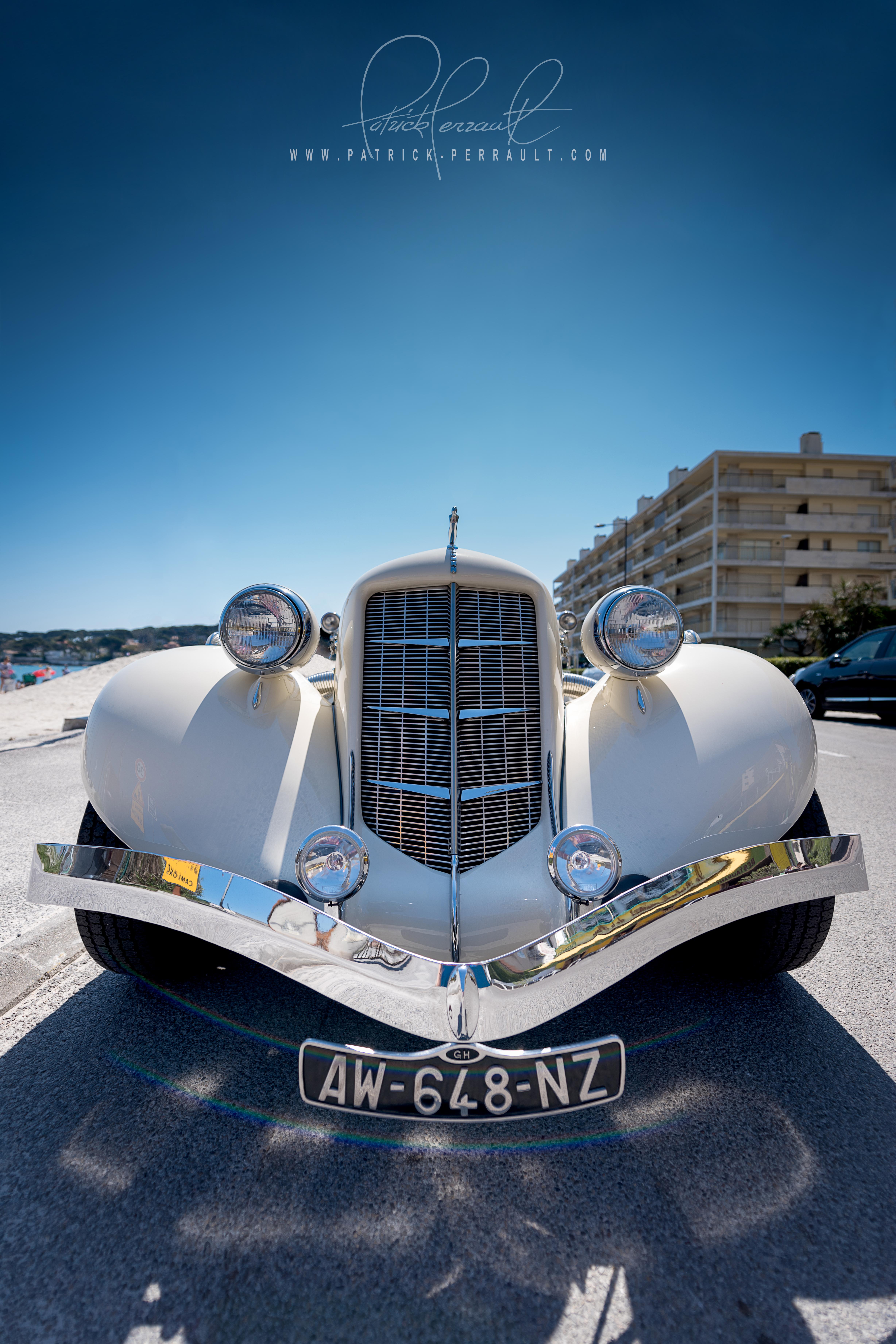 Auburn Speedster au Cap d'Antibes