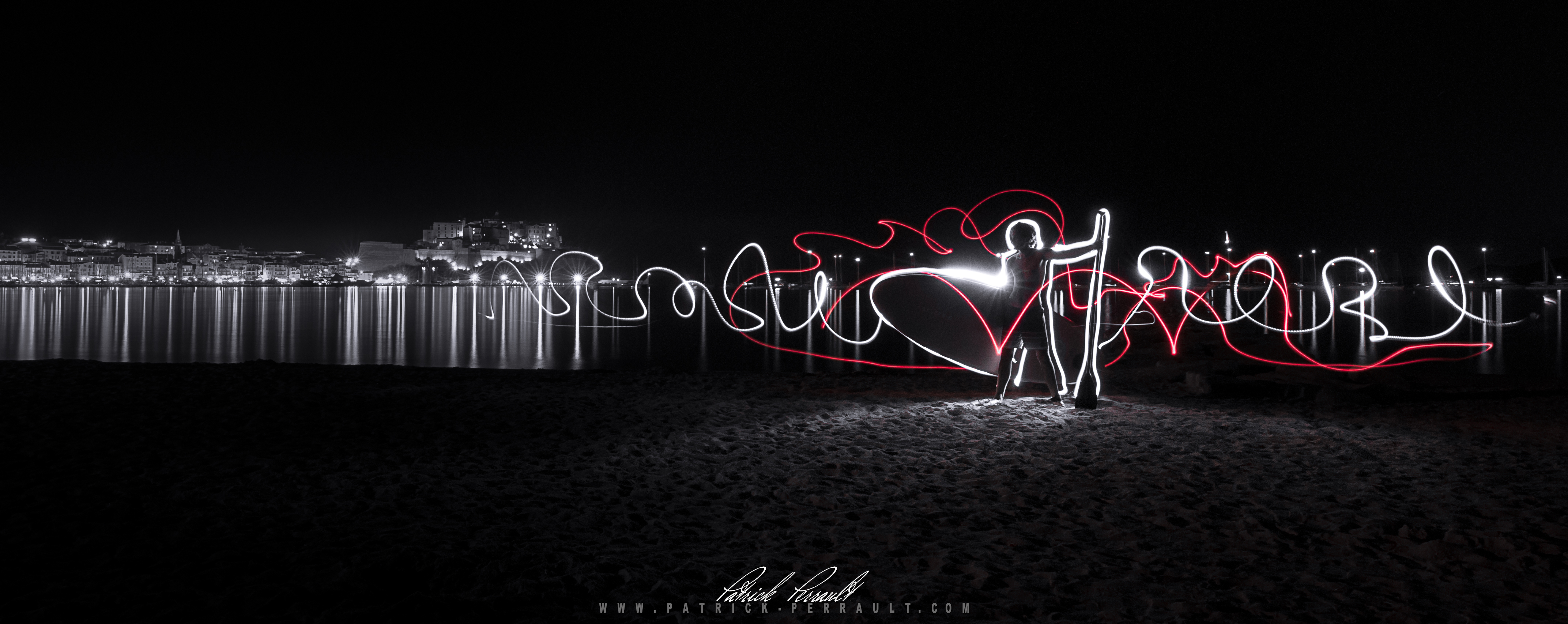 Calvi light painting
