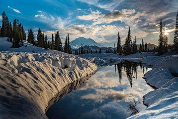 Little Tipsoo Lake, Chinook Pass, WA