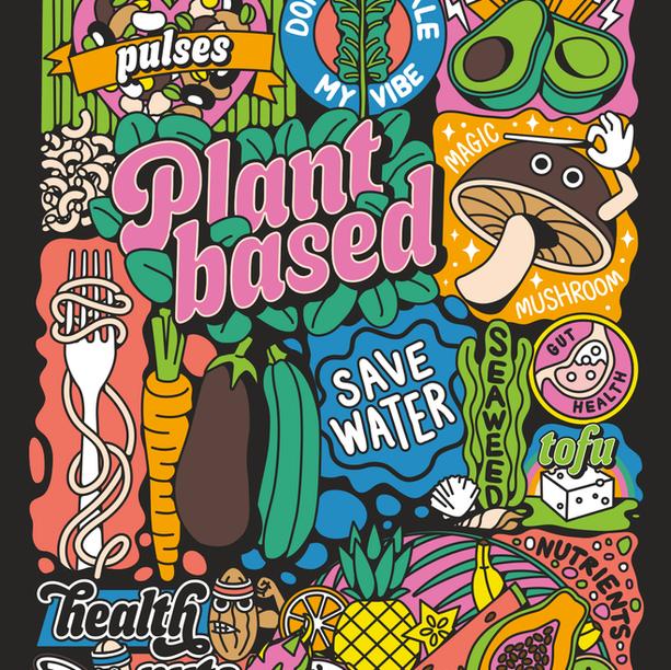 PLANT BASED ILLUSTRATION