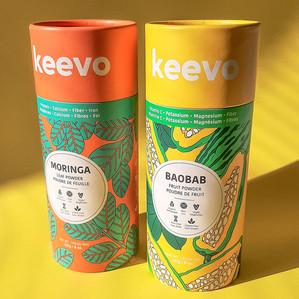 KEEVO NUTRITION PACKAGING