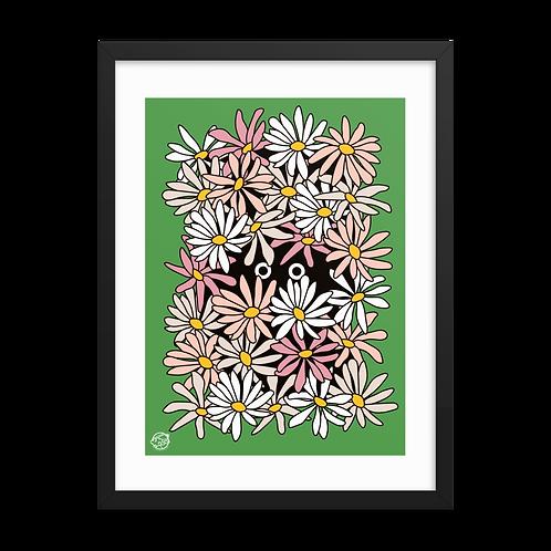 Framed Shy Wallflower