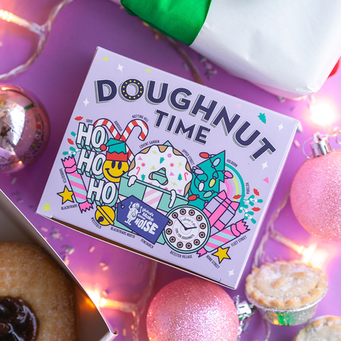 DOUGHNUT TIME CHRISTMAS PACKAGING