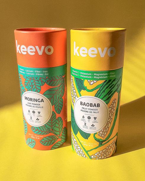 KEEVO NUTRITION PACKAGING DESIGN