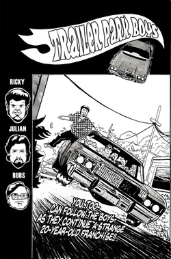 Trailer Park Boys Bagged and Boarded: Cover