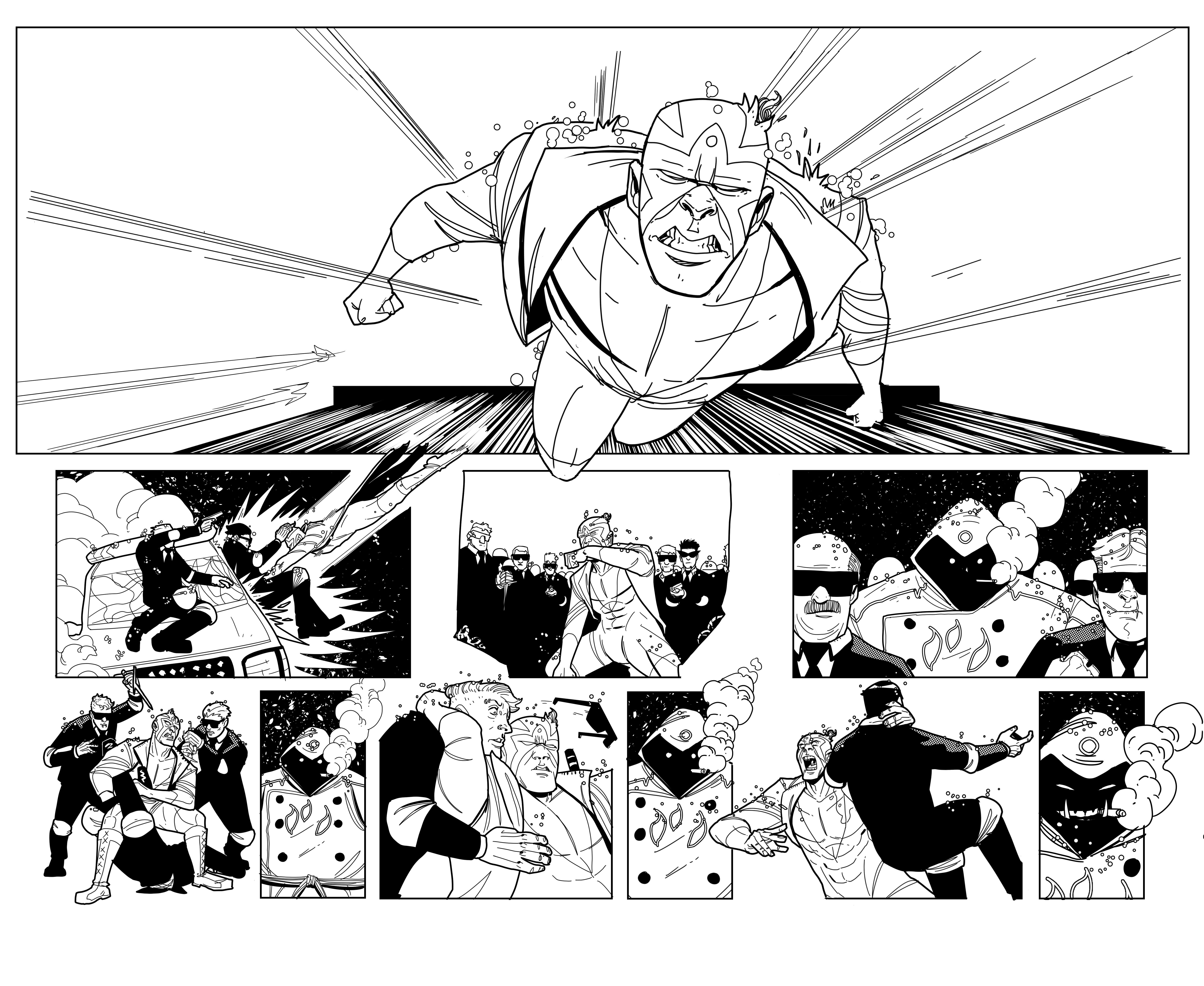 Kayfabe: Agente Luchador pg6-7