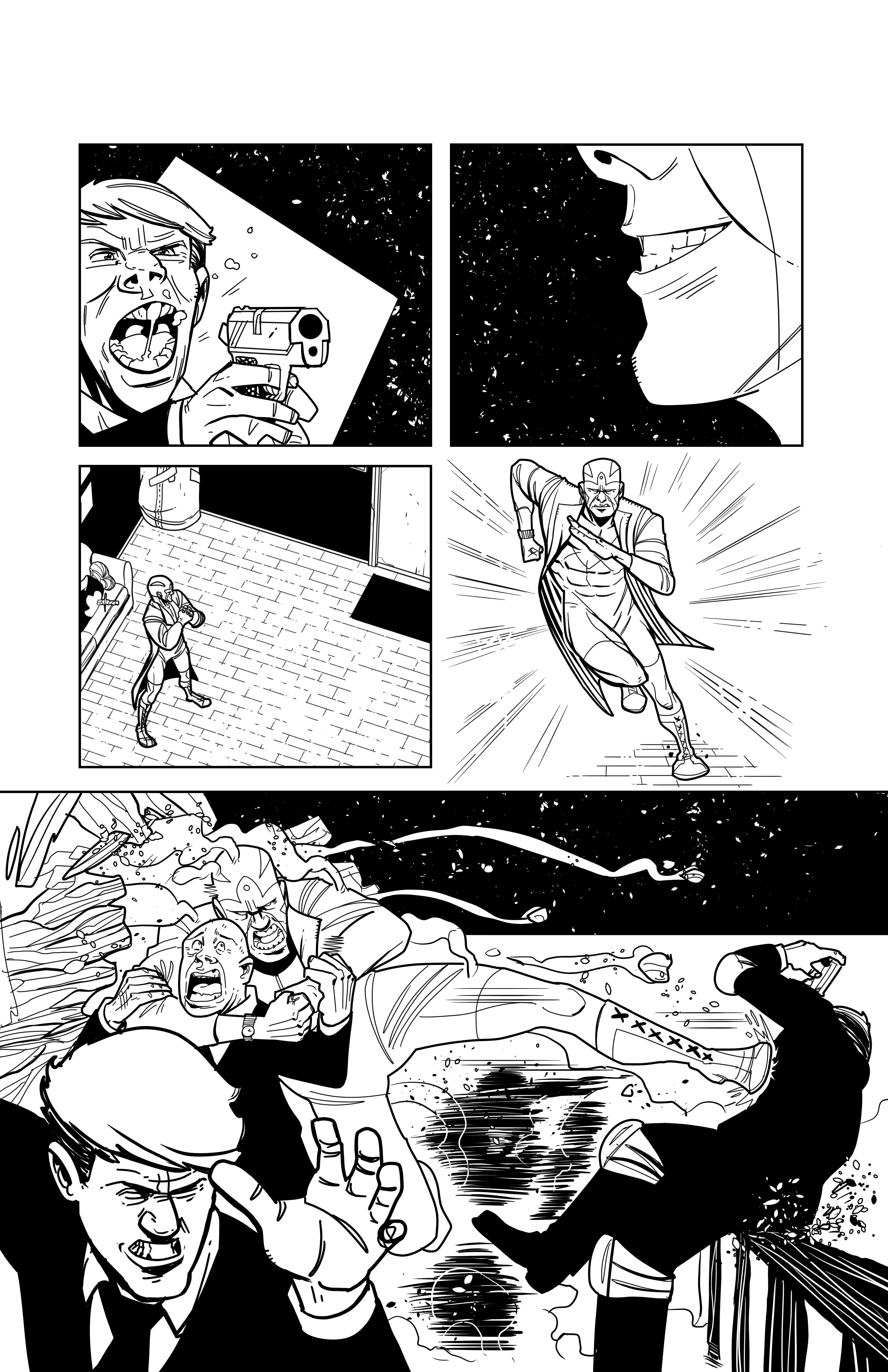 Kayfabe: Agente Luchador pg3