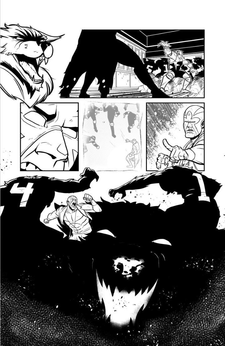 Pg 2 from LUCHA #2