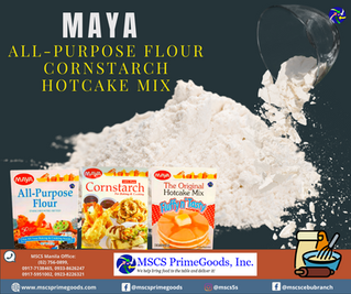 Maya Hotcake Mix, Cornstarch, & Flour Distributor