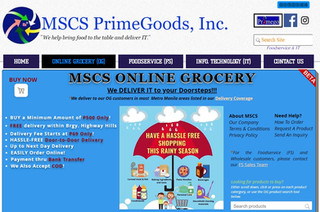 Grocery Made Easy With MSCS Online Grocery!