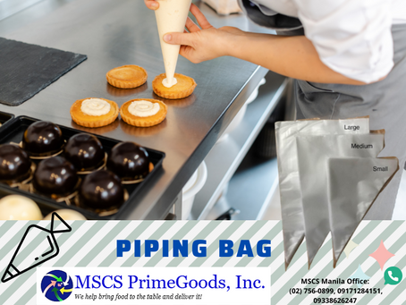 Piping Bag Supplier