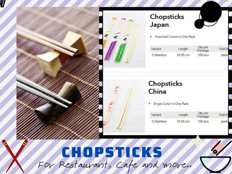 Bamboo Chopsticks Supplier