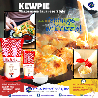 Kewpie Japanese Style Mayonnaise Supplier