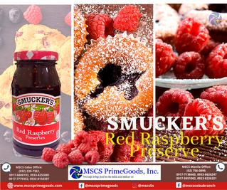 Smucker's Red Raspberry Jam Preserves Supplier