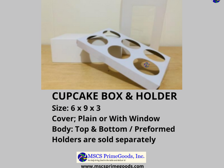 Cupcake Box Supplier