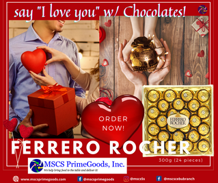 Ferrero Rocher Chocolate Supplier