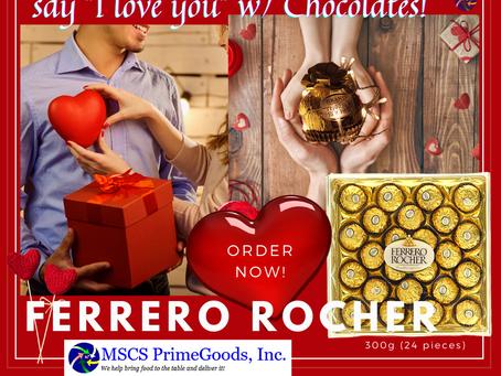 Ferrero Rocher Chocolate Supplier