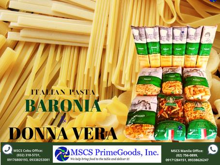Baronia & Donna Vera Italian Pasta Supplier