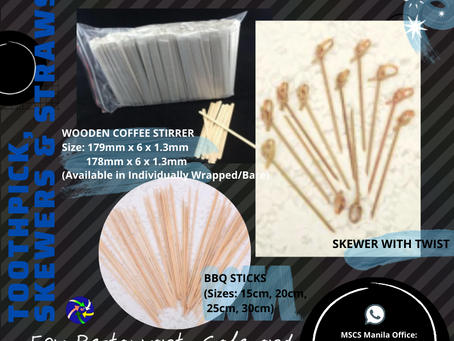 Bamboo Skewers & BBQ Sticks Supplier