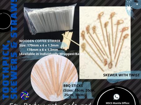 Bamboo Skewers & BBQ Sticks Supplier